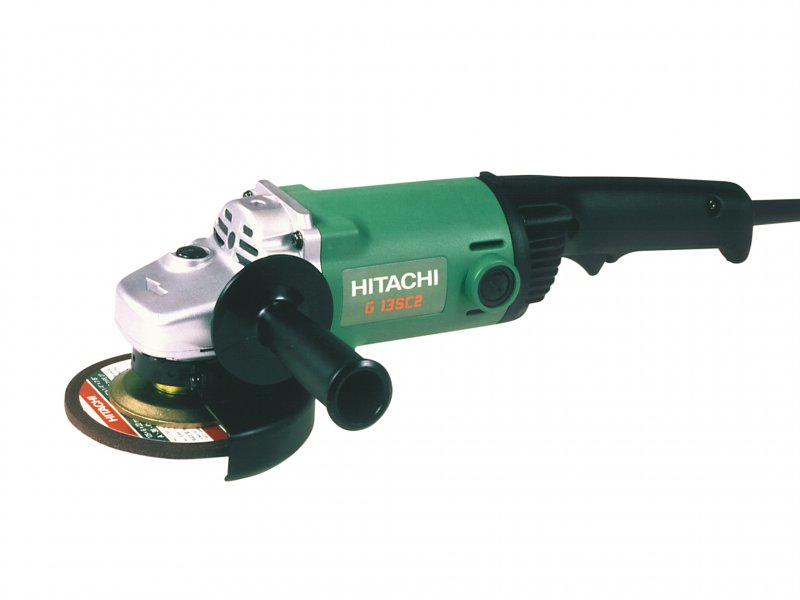 Hitachi-G13SC2-Mini-Angle-Grinder-125mm-110-Volt