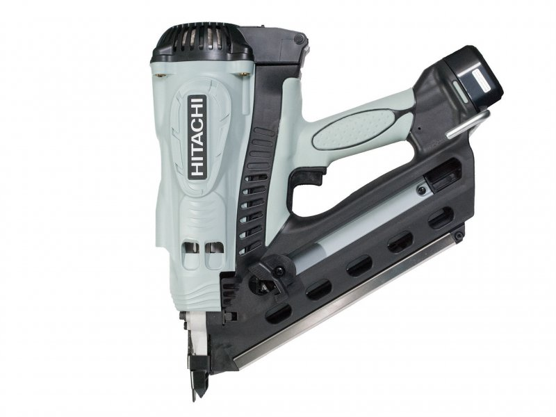 Hitachi-NR90GC2-Gas-Clipped-Head-Strip-Framing-Nailer