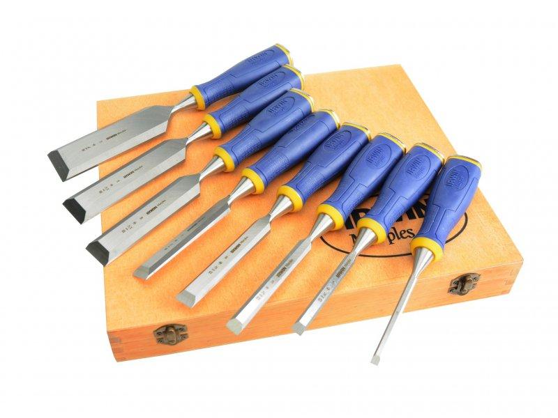 Marples-Irwin-Splitproof-Chisel-Set-of-6-Plus-2-Chisels-FREE