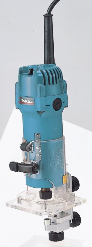 makita 3707f 110v laminate trimmer ebay. Black Bedroom Furniture Sets. Home Design Ideas