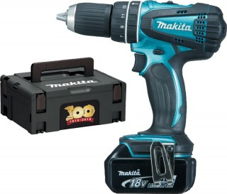 makita dhp456 sp1r 18v combi drill lxt 1 4ah battery ebay. Black Bedroom Furniture Sets. Home Design Ideas