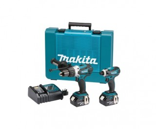 Makita Dlx2005m 18v 4ah Lxt Dhp458 Dtd146 Twinpack Ebay